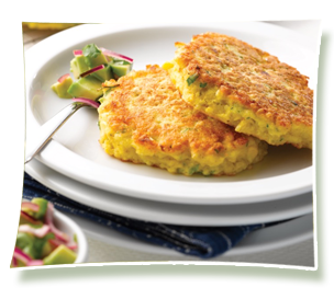 Egg Recipes - Sweetcorn fritters
